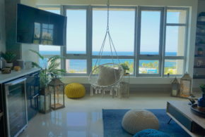 Plentiful Views Atlantis | San Juan Puerto Rico | Living Room Ocean Views